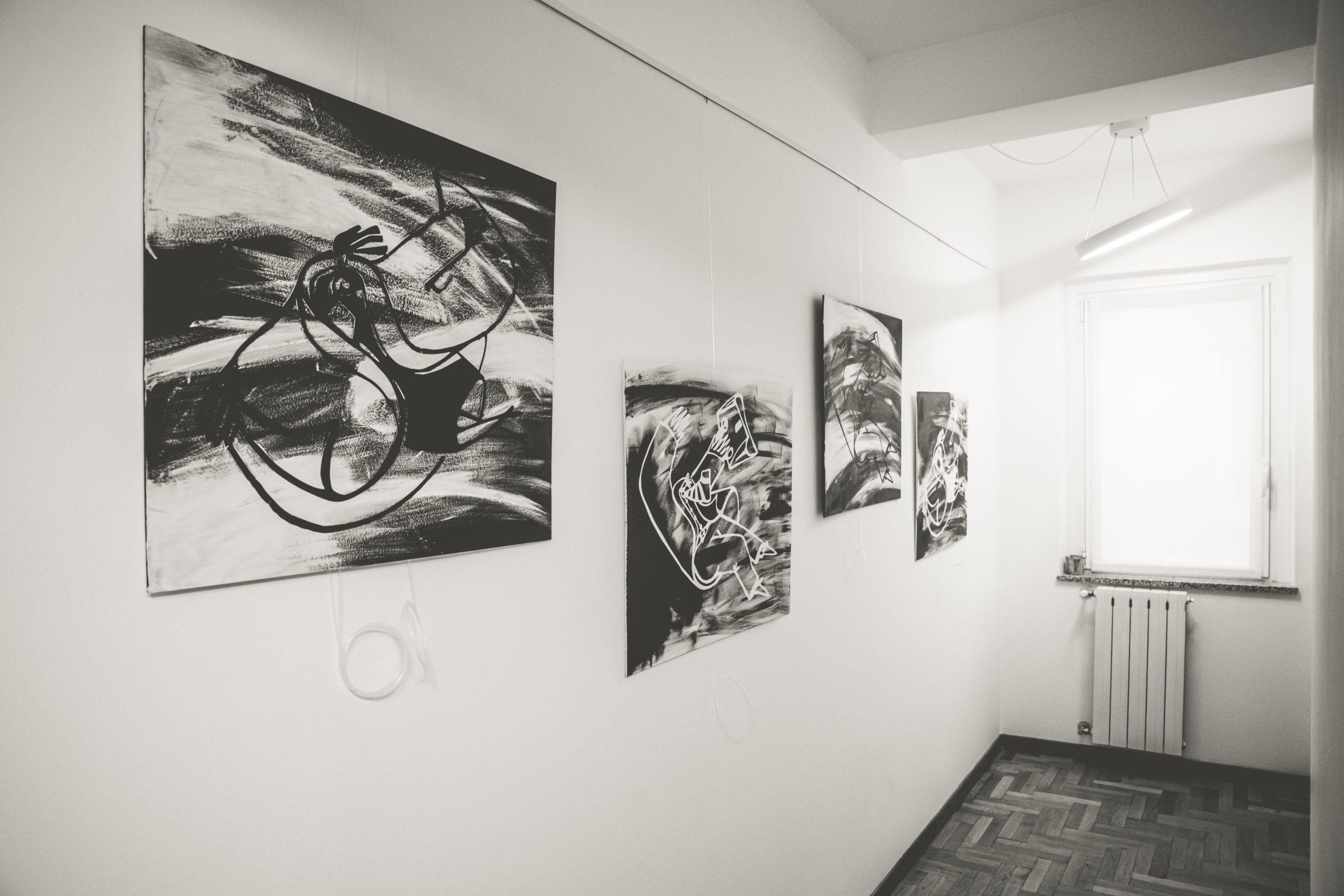 Mostra a Dancing House, lo spazio creativo di Marta Zacchigna a Trieste.
